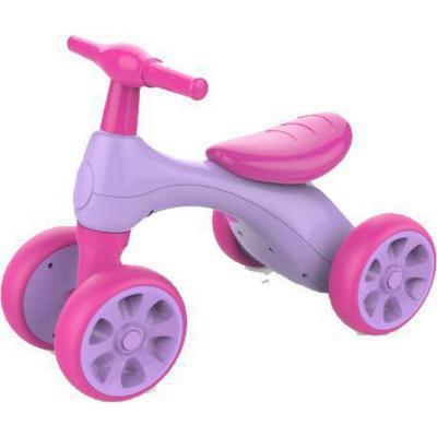 Rodado 4 ruedas rosado