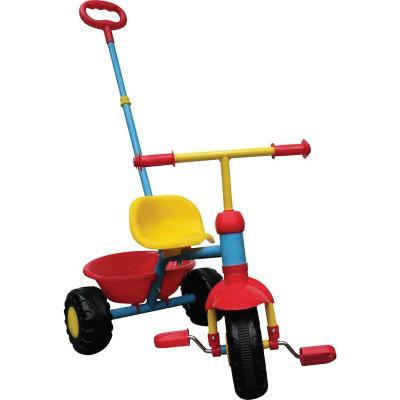 Triciclo con agarre parental