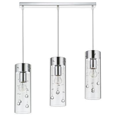 Lámpara colgante New Houston 3 luces E27