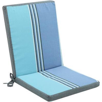 Cojín silla Lisboa 90x40 cm azul