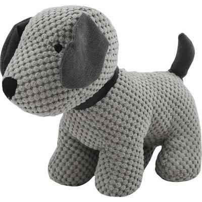 Tope de puerta animal lover perro gris