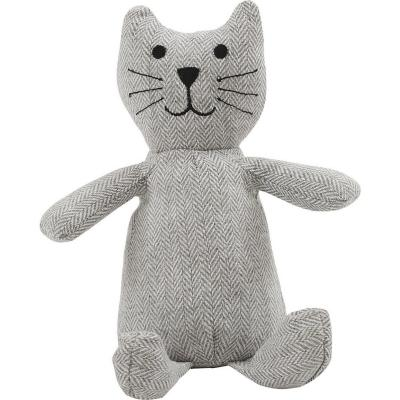 Tope de puerta animal lover gato gris
