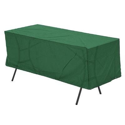 Funda protectora para mesa terraza 230x110 cm verde