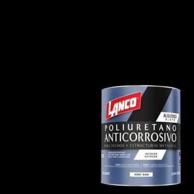 Anticorrosivo techos y estructuras metálicas negro 1 litro