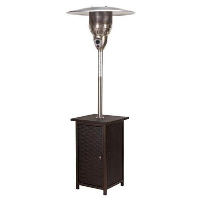 Estufa patio gas heater rattan hphr 11 kilos