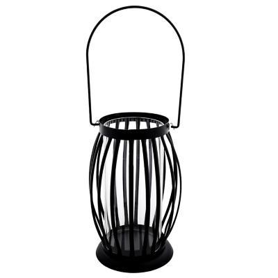 Farol decorativo metal 20 cm negro