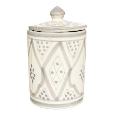 Azucarero cerámica 300 ml gris