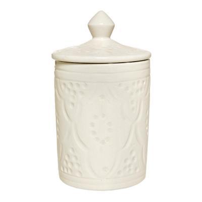 Azucarero cerámica 300 ml blanco