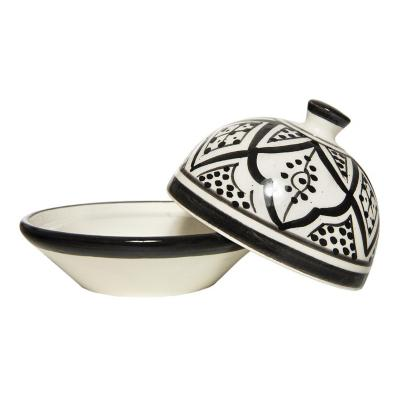 Mantequillero cerámica 10x9 cm negro