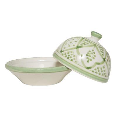 Mantequillero cerámica 10x9 cm menta