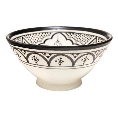 Ensaladera cerámica 500 ml negra
