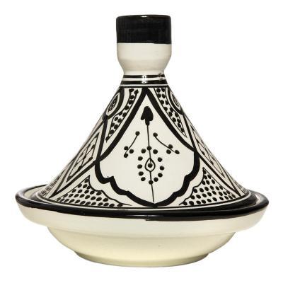 Tajine cerámica negro