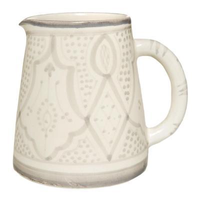 Jarro cerámica 700 ml gris