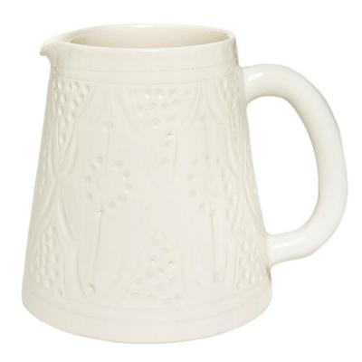 Jarro cerámica 700 ml blanco