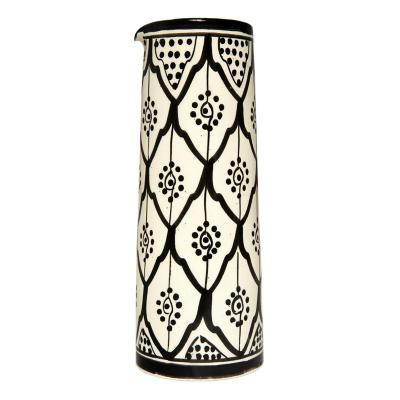 Jarro largo cerámica 900 ml negro