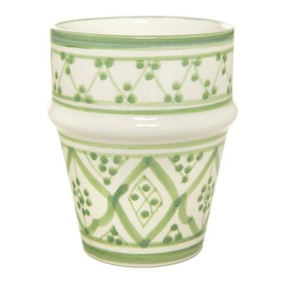 Vaso cerámica 250 ml menta