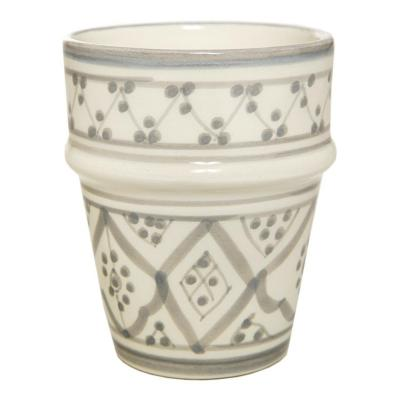 Vaso cerámica 250 ml gris