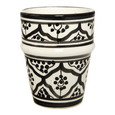 Vaso cerámica 250 ml negro