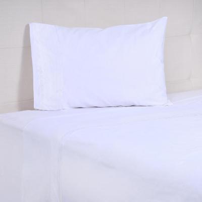 Juego sábanas Dominga 300 hilos blanco 1,5 plazas