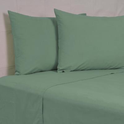 Juego sábanas 144 hilos verde 2 plazas