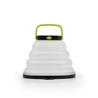 Lámpara crush  plegable energía solar blanco