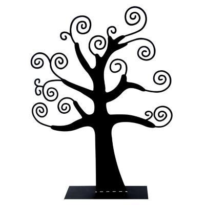 Porta joyas árbol negro 42 cm