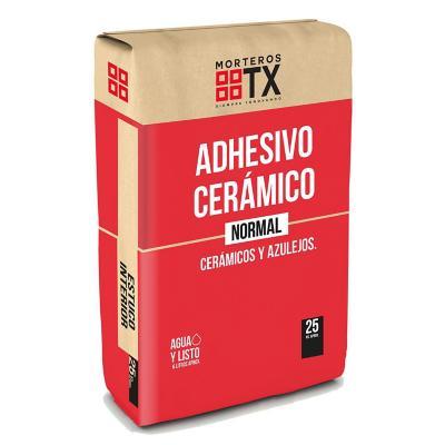 Adhesivo cerámico normal 25 kilos