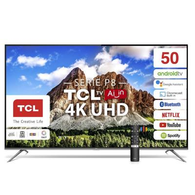 "Led 50"" 50p8 4k ultra hdr android tv"