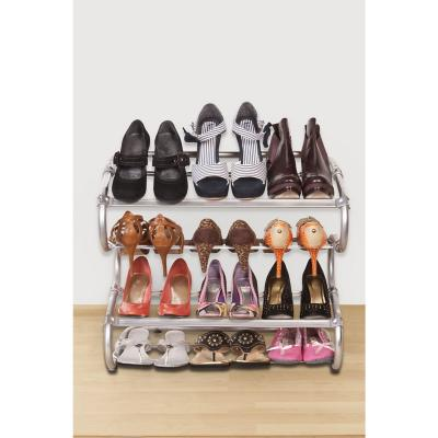 Rack organizador de zapatos ajustable 4 niveles