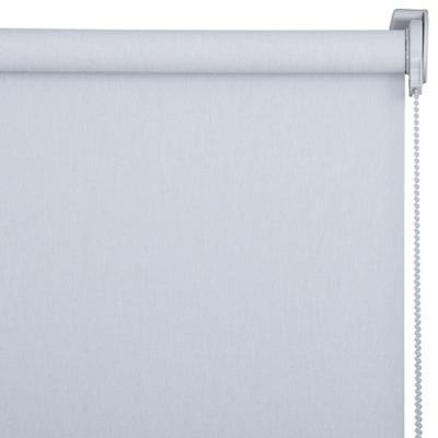 Cortina Enrollable Sunscreen Apertura 1% Gris Instalada  Ancho entre 121 cm a 130 cm Alto 241 cm a 260 cm