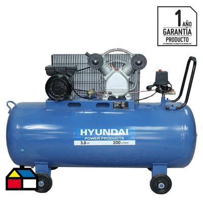 Compresor de aire 3HP 200 litros