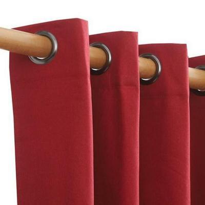 Cortina blackout 135x230 cm texture rojo