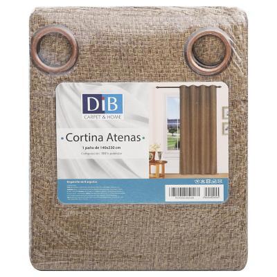 Cortina 140x230 cm Atenas café