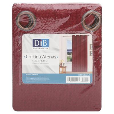 Cortina 140x230 cm Atenas rojo