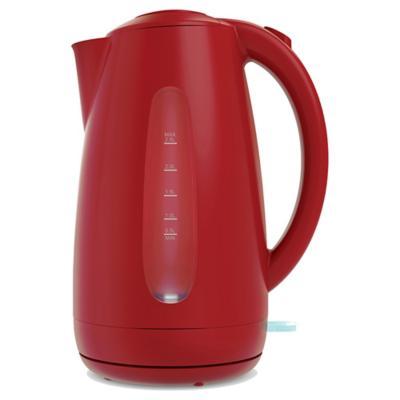 Hervidor eléctrico 2,5 litros rojo