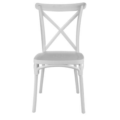 Silla comedor rhyd blanco 91x43x43 cm
