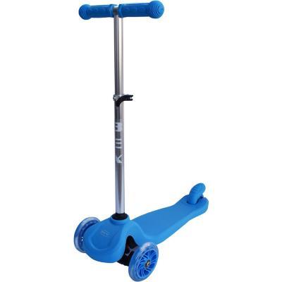 Scooter azul 3 ruedas