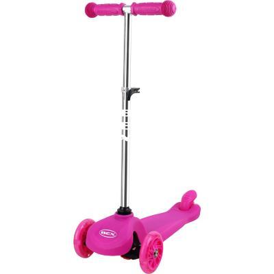 Scooter rosado 3 ruedas