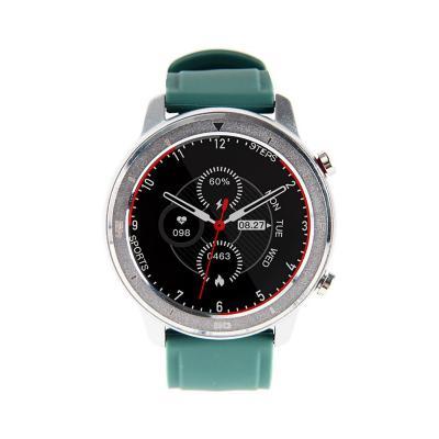 Smartwatch rd7 plateado verde