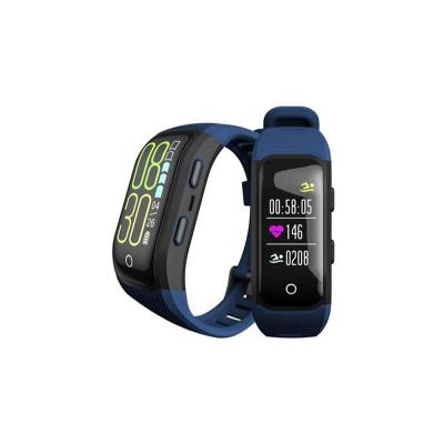 Banda deportiva sw11 plus azul pulsometro