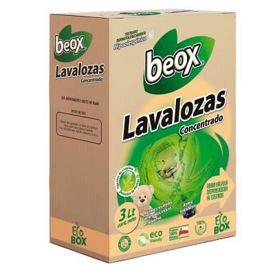 Lavalozas concentrado ecobox 3 litros