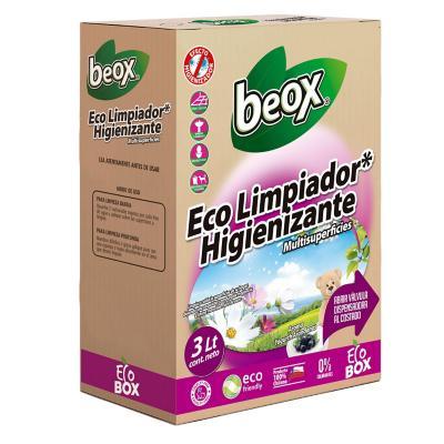 Limpiador higienizante ecobox 3 litros