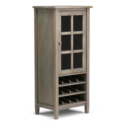 Gabinete vino 12 botellas 57,2x40,6x127 cm