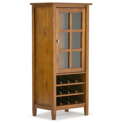 Gabinete vino 12 botellas 57x40,6x127 cm