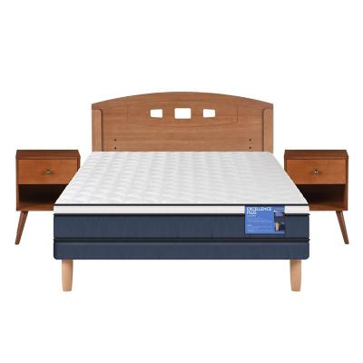 Cama europea excellence plus 2 lazasp + muebles