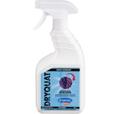 Amonio cuaternario dryquat spray diluído 500cc