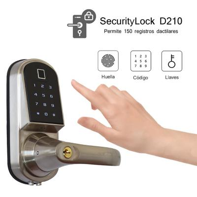Cerradura securitylock d210 fingerprint izquierda