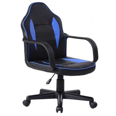 Silla gamer racer ergonómica 86x57x55 cm azul