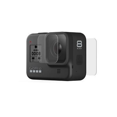 Protector de lente y pantalla gopro hero 8 negro