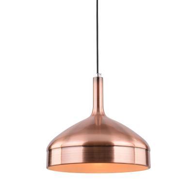 Lámpara colgante acero soft cobre